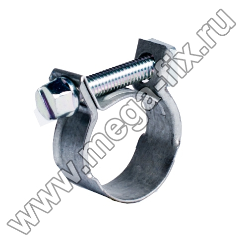 Хомут мини Mikalor Normal 15-17 W1
